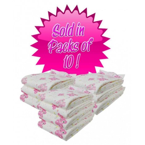 PINK TEDDY BEAR DIAPERS