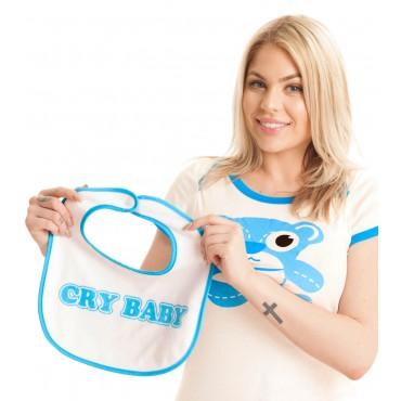 BLUE CRY BABY BIB