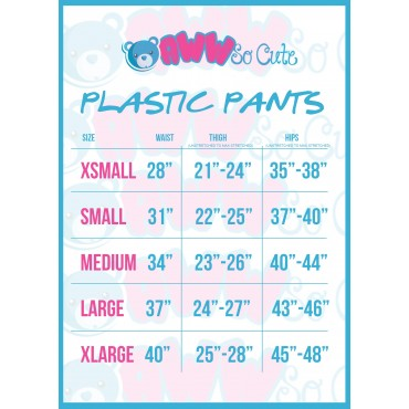PINK PLASTIC DIAPER COVERS