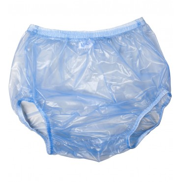 BLUE PLASTIC DIAPER COVERS