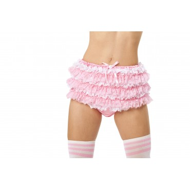 SATIN FRILLY RHUMBA DIAPER COVERS