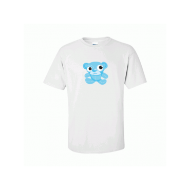 Blue Teddy Bear T-Shirt