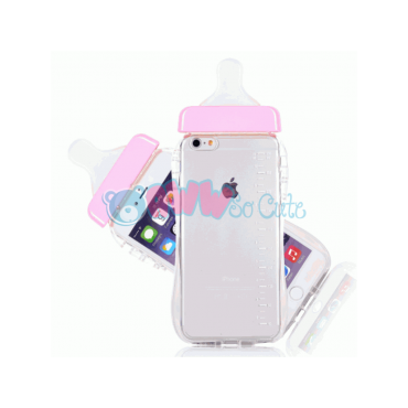 PINK Baby Bottle iPhone Case